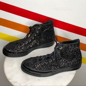 NEW Converse glitter high top chuck taylors